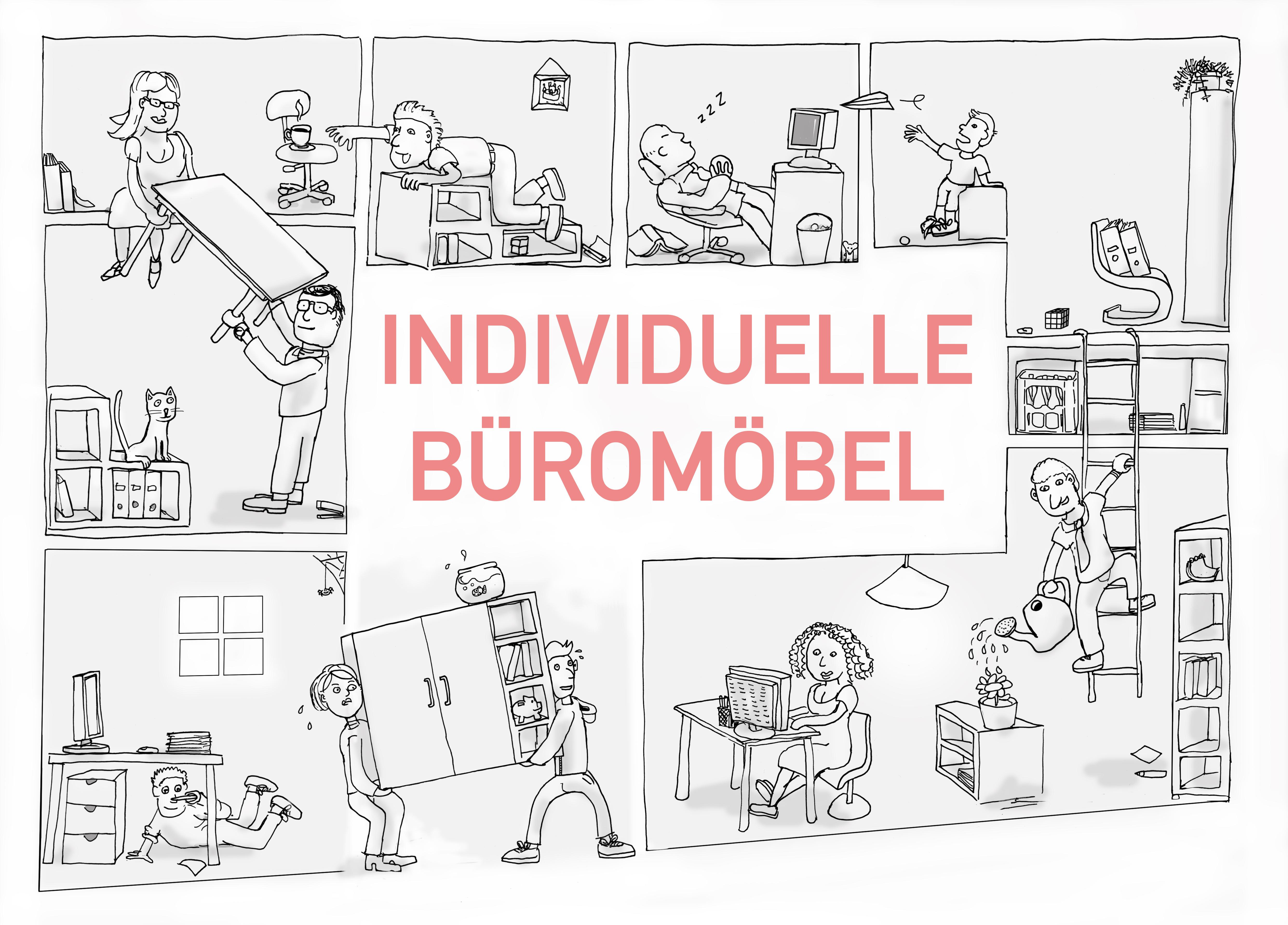 momo – Büromöbel für Individualisten